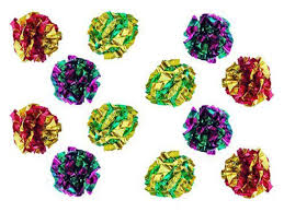 pet supplies pet balls petfavorites original mylar crinkle