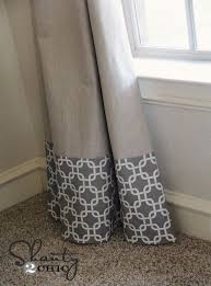 Fabric For Kitchen Curtains Best 25 Lengthen Curtains Ideas On Pinterest Diy Curtians