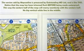 map az a z knowledge map encapsulatedwall maps large