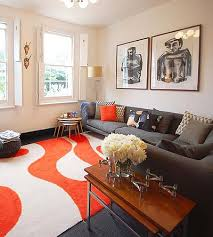 finding the right living room mix orange rugs living rooms and room