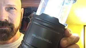 bell howell tac light lantern bell howell tac light lantern review does it really work youtube