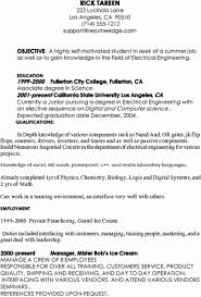 Example Resume Doc Example Of Student Resume Resume Example And Free Resume Maker