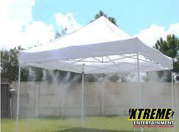 tent rental orlando misting tent rental party rentals orlando
