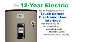 reliance water heaters electric gas and liquid propane