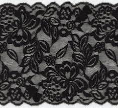 black lace trim wide stretch lace trim sew sassy fabrics