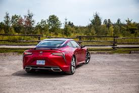 lexus lf lc price canada review 2018 lexus lc 500 canadian auto review