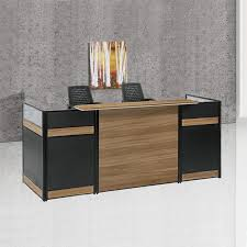 High End Reception Desks High End Reception Desk Office Furniture Cheap Wooden Office