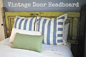 three scoops of love vintage door headboard