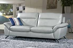 canap en cuir gris articles with canape relax 3 places design tag canape relax design