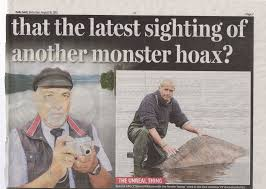 loch ness monster george edwards confesses