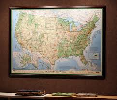 United States Map Poster by Maps Of The Usa Usa Maps Imus Geographics