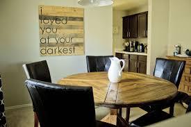 round farmhouse table diy lane home co picture