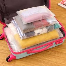 Alabama Travel Clothes images Free shipping travel storage bag clothes zip lock plastic jpg