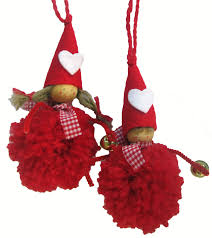 these cute pom pom elves add something special to any christmas