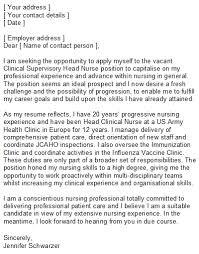 nursing cover letter professional nursing cover letter letters font
