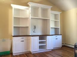 Built In Wall Shelves by Office Desk Wall Unit Home Design Ideas And Pictures Within Wall