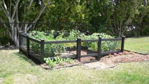 nice patio with floor tiles and soil mix for raised bed vegetable