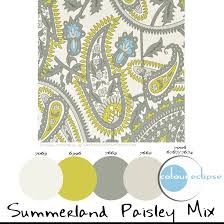 paint palettes summerland paisley mix concepts and colorways