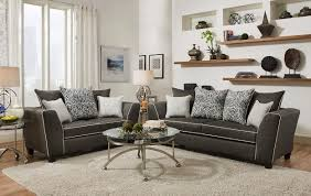 delta sofa and loveseat san miguel charcoal sofa loveseat by delta 4 the home store