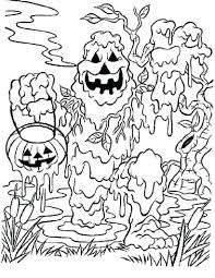 scary printable coloring pages print perfect witch to color in