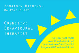 Bp Business Card Creative Cbt Counselling The New Creative Cbt Business Card