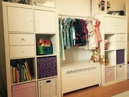 ikea hack kallax wardrobe for the girls ikea hacks pinterest