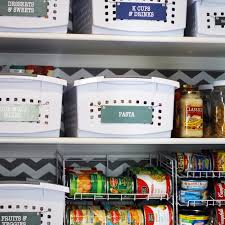 how to organize a small reach in pantry blue i style creating