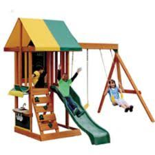 Big Backyard Windale by Big Backyard Brightside Wooden Play Centre Canadian Tire