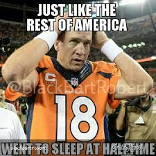 Patriots Broncos Meme - patriots come back from 24 down to beat manning and the broncos