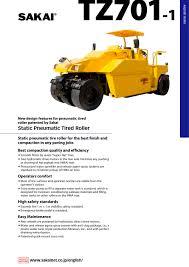 tz701 1 sakai heavy industries pdf catalogue technical