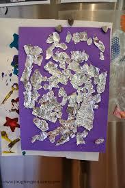 exploring tin foil laughing kids learn