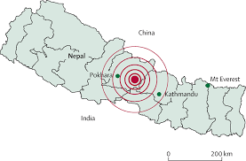 Nepal On A World Map by Nepal Earthquake Exposes Gaps In Disaster Preparedness The Lancet