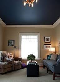 love the enhanced ceiling height and the trim color in combination