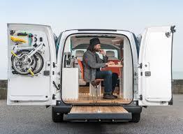 bureau mobile bureau mobile nissan e nv200 un bureau électrique destiné aux