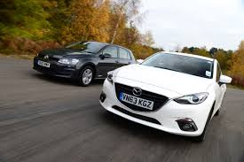 mazda 6 or mazda 3 volkswagen golf vs mazda 3 auto express