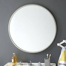 framed bathroom mirrors brushed nickel metal framed bathroom mirrors metal framed mirror brushed nickel