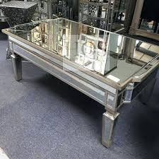 mirrored glass coffee table mirror coffee table antique mirrored coffee table with storage