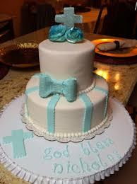 nicholas u0027 first baptism cake graphicallycake