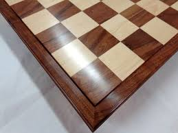 Chess Table Hand Crafted Custom Chess Board By Wood N Reflections Custommade Com
