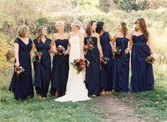 marine bridesmaid dresses 75 festive wedding ideas bridesmaids