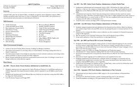 server resume template oracle dba resume format resume for study