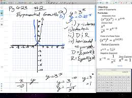 exponents radicals exponential growth grade 11 mixed chapter 7