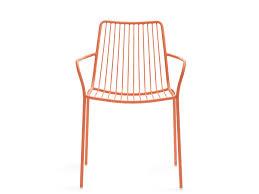 Metal Garden Chair Steel Garden Chair Nolita 3650 By Pedrali Design Simone Mandelli