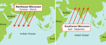 Map Of Monsoon Asia by Nephicode Monsoons And Wind And Ocean Currents U2013 Part Iii