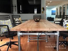 butcher block table designs butcher block conference table conference table pinterest