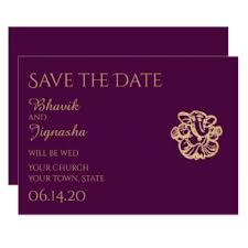 indian wedding save the date invitations announcements zazzle