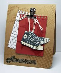 sneaker card male cards pinterest cards masculine cards and
