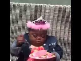 Little Black Girl Meme - it s a lovely party youtube