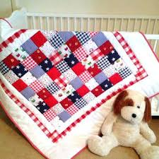 Red Gingham Duvet Cover Red And Blue Quilt Set Red And Blue Doona Cover Patriotic Vintage