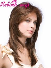 medium hairstyles with bangs and highlights women medium haircut